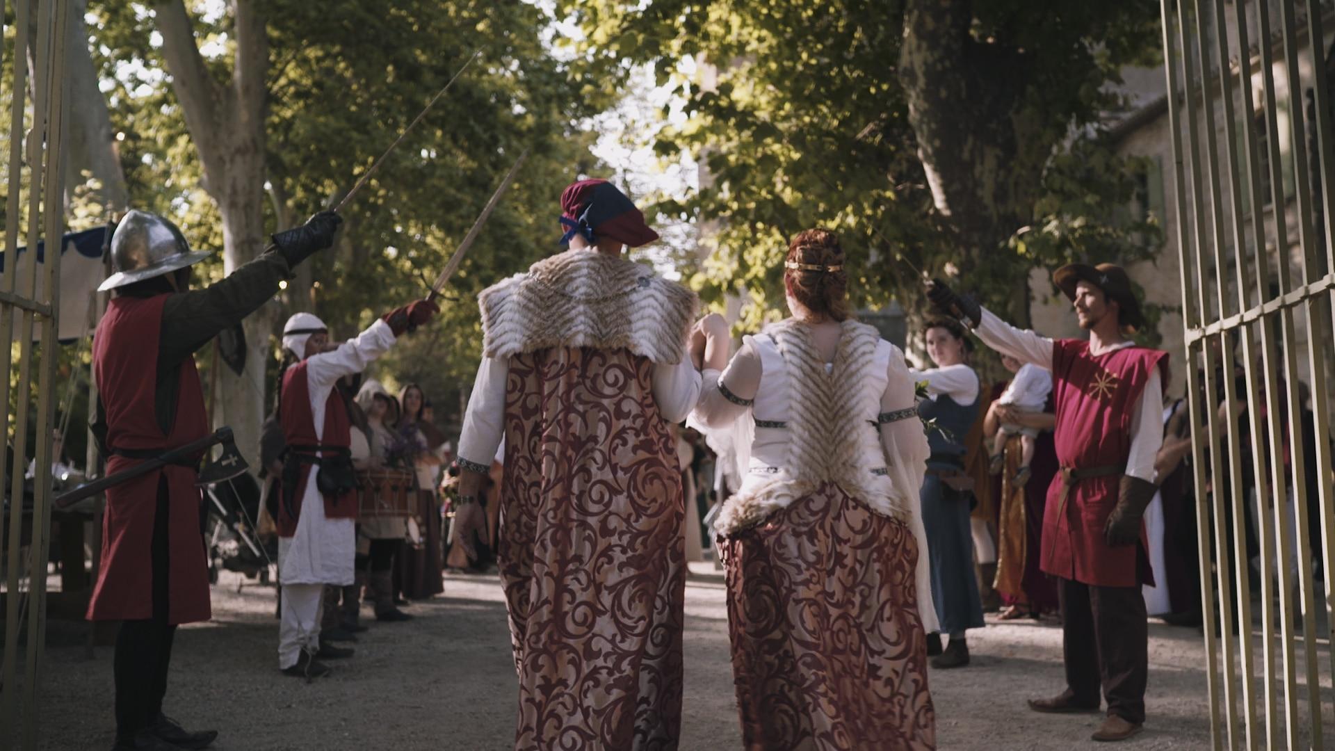 wedding film abbey valmagne
